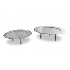 Tavolino in alluminio Ø cm. 40