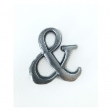 Simbolo & in alluminio anodizzato