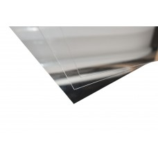 Lastre in alluminio anodizzato argento lucido specchio mm.0,5