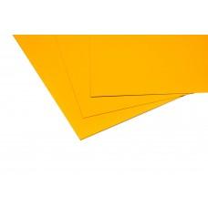 Lastre in alluminio preverniciato giallo mm.0,5