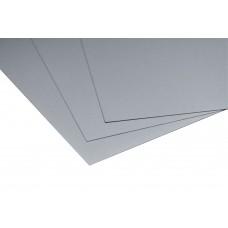 Lastre in alluminio preverniciato silver mm.0,5