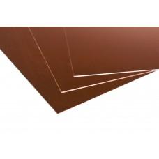 Lastre in alluminio anodizzato colorato naturale rame mm.0,5