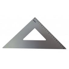 Squadra in alluminio anodizzato Arda 45°