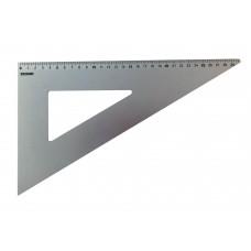 Squadra in alluminio anodizzato Arda 60°