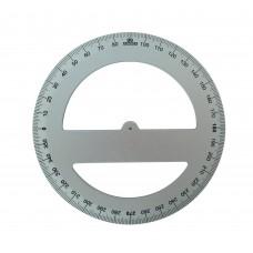 Goniometro in alluminio anodizzato Arda 360° cm. 15