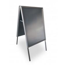 Cavalletto bifacciale Easy Click Arda in alluminio anodizzato