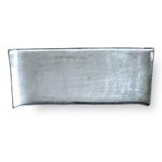 Vassoio decorativo in alluminio cm. 57