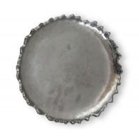 Piatto in alluminio Ø cm. 22