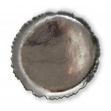 Piatto in alluminio Ø cm. 27