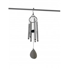 Campana a vento in alluminio a sei elementi