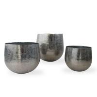Vaso porta piante in alluminio Ø cm. 27