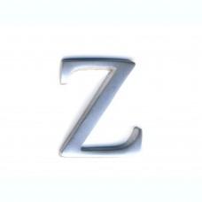 Lettere in alluminio anodizzato satinato - Lettera Z