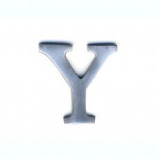 Lettere in alluminio anodizzato satinato - Lettera Y