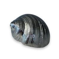 """Soprammobile conchiglia """"Silver"""" in alluminio (tipo 1)"""