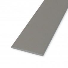 Profili piatti in alluminio anodizzato mm. 25x2