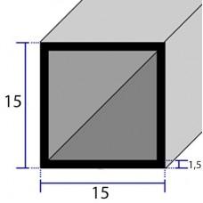 PROFILI  ALLUMINIO QUADRATI 15x1,5