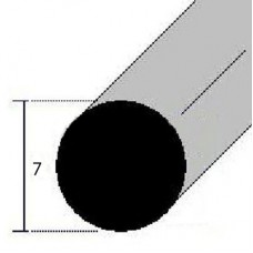 BARRE TONDE ALLUMINIO DIAMETRO 7 mm