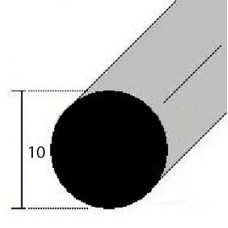 BARRE TONDE ALLUMINIO DIAMETRO 10 mm
