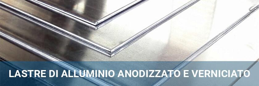 lastre di alluminio anodizzato e verniciato